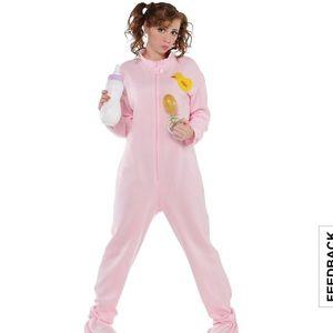 Women's Adult Baby Halloween Costume